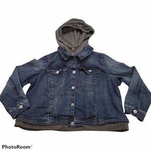 Rebel Wilson Angels Denim Hooded Jacket
